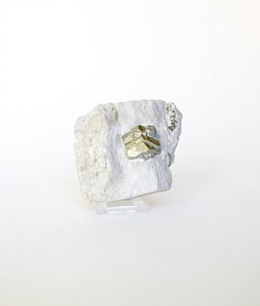 Mineral Pirita en matriz